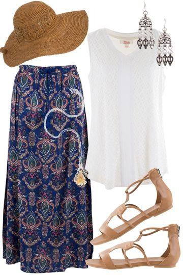 Exotic Escape Outfit includes boho bird, Clarity By Threadz, and Adorne - Birdsnest Fashion Clothing