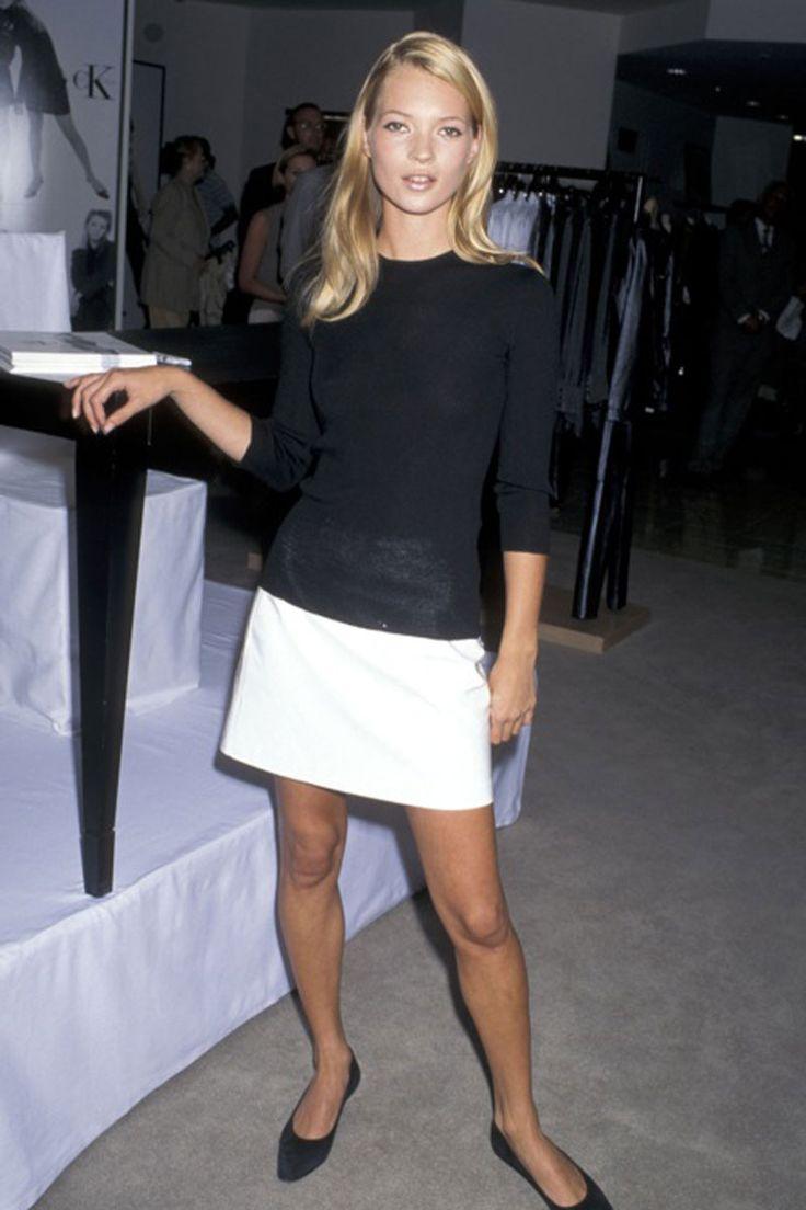 La vida en imágenes de Kate Moss: Calvin Klein