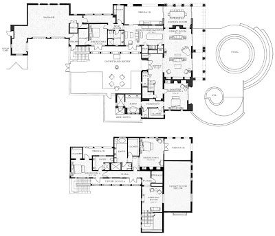 8 Best Luxury Home Plans 7500 Square Feet And Up Images