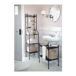 IKEA - RÖNNSKÄR, Hylle til servant,  , , En god løsning for deg som har lite plass.