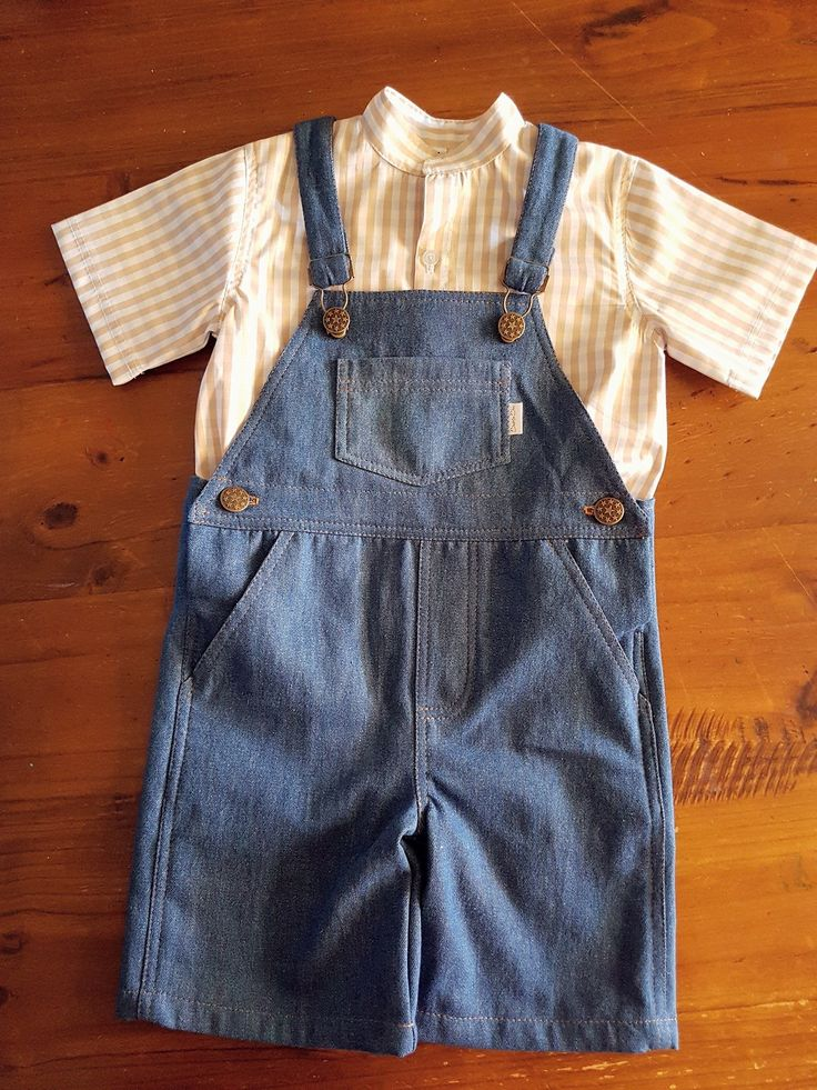 Unisex Denim Shortalls  Available in sizes 000-12 www.facebook.com/beaniebooclothing or www.beanieboo.com.au with AfterPay too.