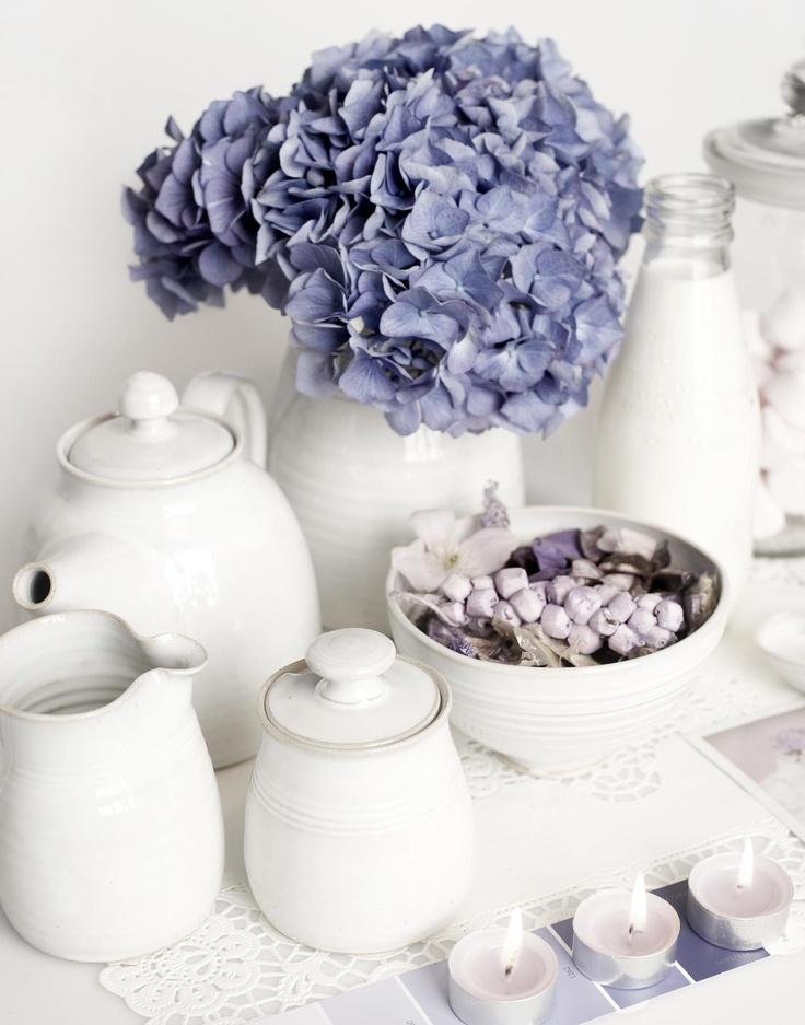 Some of my buttermilk glaze pots