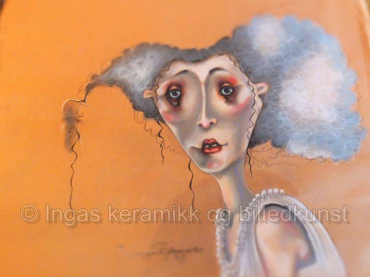 pastel på papir av Inga Bjørnsdottir 80x100cm, se og lik min facebookside https://www.facebook.com/ingas.kunst