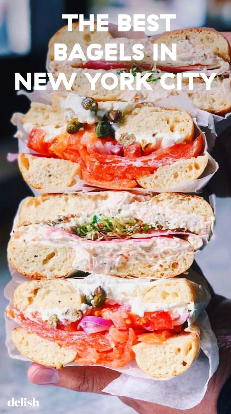 The 15 Best Bagels In New York City