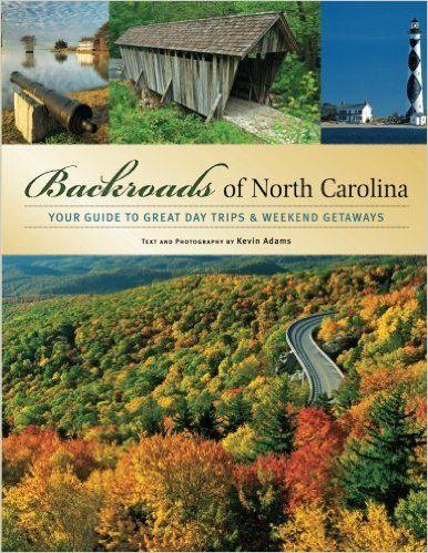 north carolina travel guide book