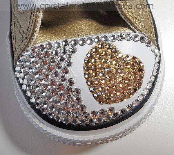 Swarovski Crystal Converse step by step guide