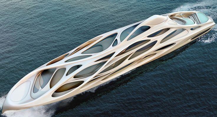 Amazing yachts: Unique Circle Yachts Concept by Zaha Hadid Architects