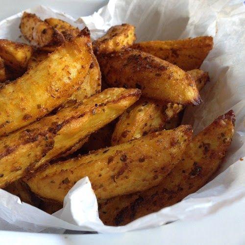 würzig-krosse Kartoffelecken                                                                                                                                                                                 Mehr