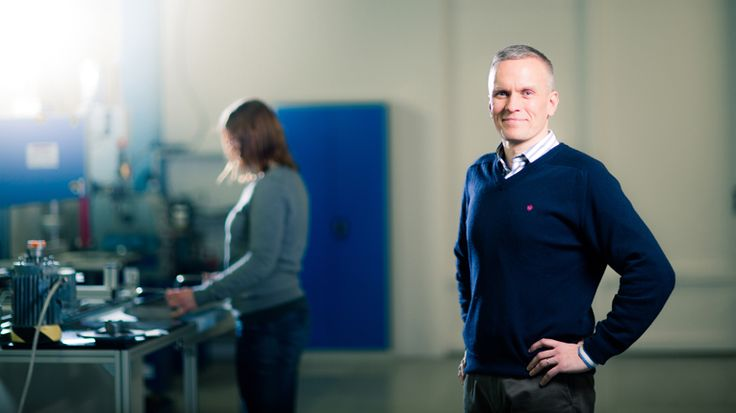 Finnish startup Spinnova has developed the first technology which can be used to manufacture yarn directly from wood fibres without chemical processing. Janne Poranen, CEO and Co-Founder of Spinnova pictured.