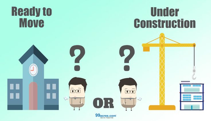 #ReadyToMove in #house or an #UnderConstruction #property, which one is a better bet? #RealEstate #Article #Infographic