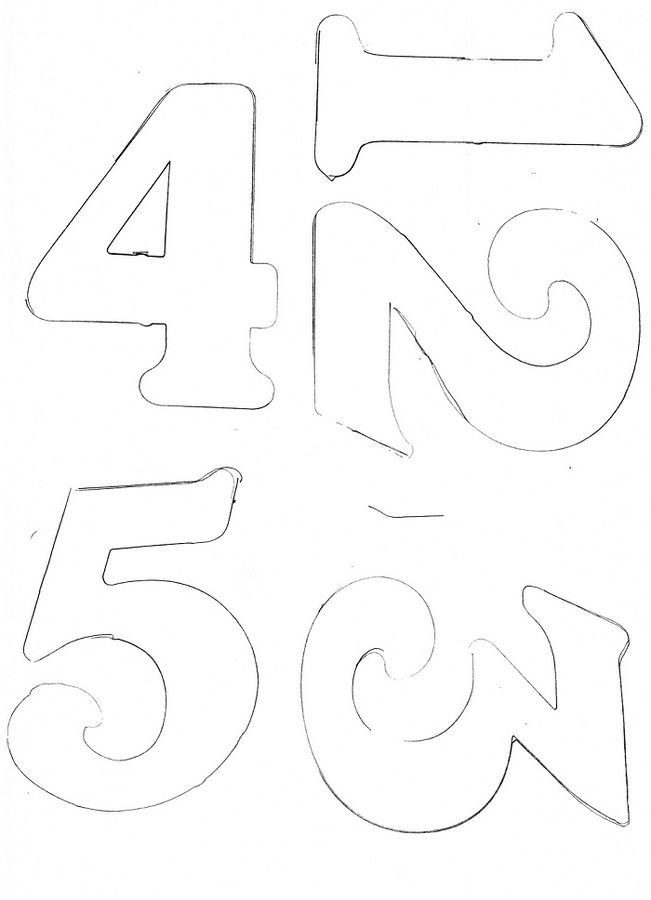 Print on A4 paper for numbers suitable for soccer/football
