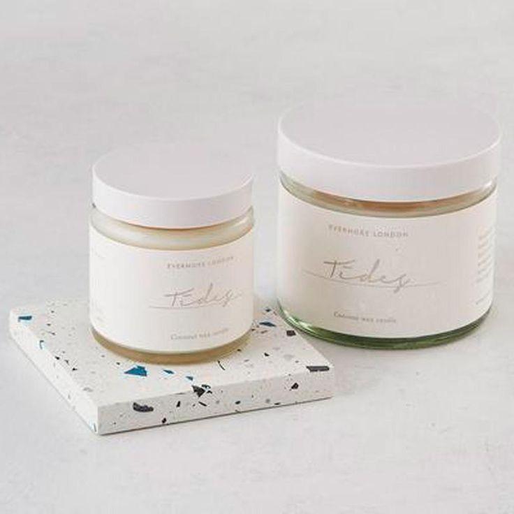 Tides Organic Coconut Wax Candle - 120ml