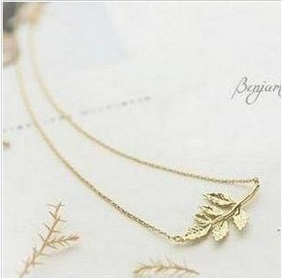 (Min order$10)Fashion necklace, leaves, womans loveFree Shipping!#X00017 on AliExpress.com. $0.57