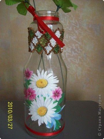 Ваза из бутылки-2