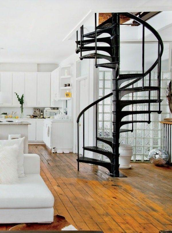 les 25 meilleures id es de la cat gorie escalier en. Black Bedroom Furniture Sets. Home Design Ideas