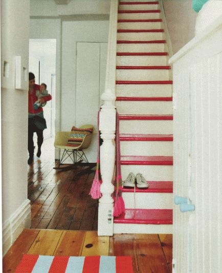 paint the steps