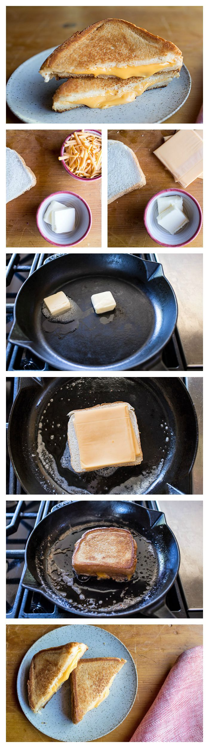 If there's one thing that everyone should know how to make perfectly, it's a classic grilled cheese sandwich.