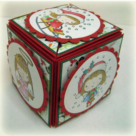 Secret box by wenchie - Cards and Paper Crafts at Splitcoaststampers