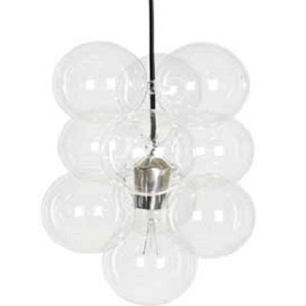 DIY glaskugle loftlampe fra House Doctor købes online her. FRI FRAGT