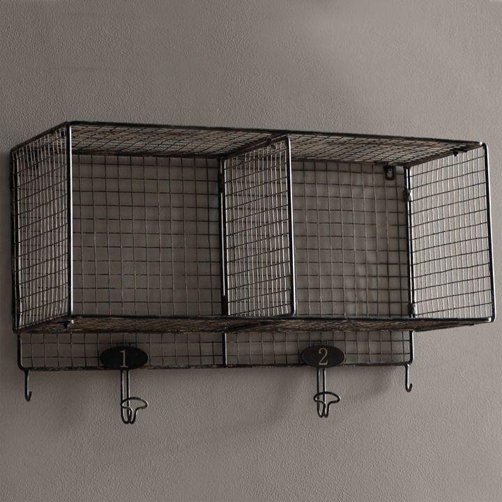 This vintage looking shelf is a throw-back to the gym lockers of our youth. Perfect in a mud room, kids room or bath in fact it works well just about anywhere you need a little extra storage. Pair it ...