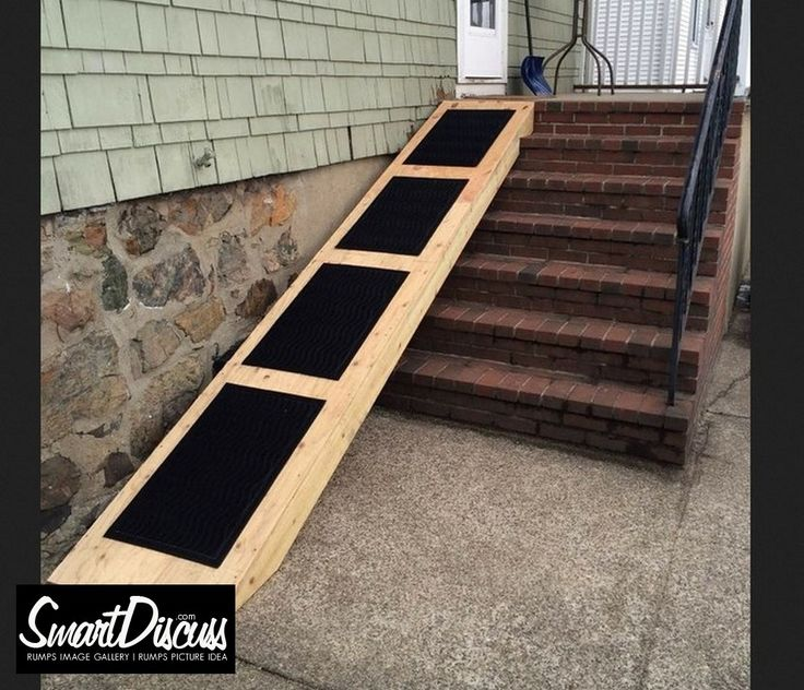 22 best tkraft a i sb 39 s deck images on pinterest for Handicap stairs plans