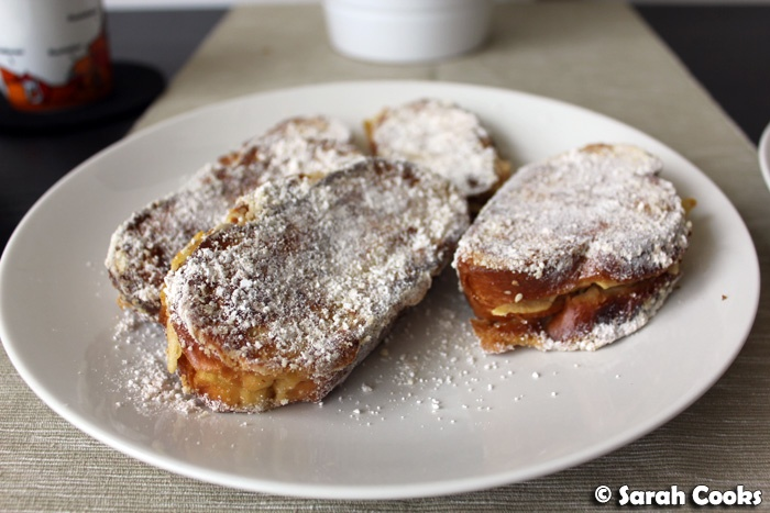 Apple Donut French Toast