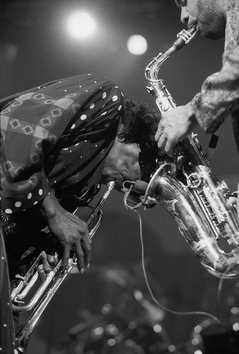 Miles Davis and Kenny Garrett, 1989