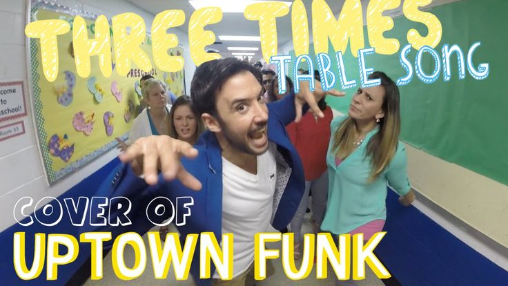 Mr. DeMaio and friends cover Uptown Funk by Mark Ronson and Bruno Mars in this fun multiplication video that can be used to help you memorize your three time...