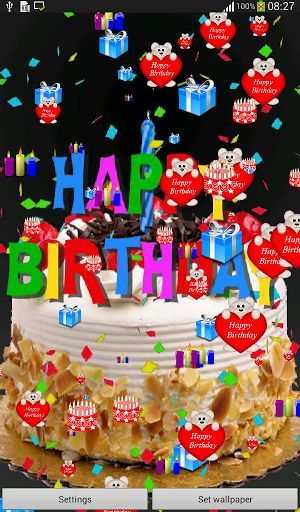 Exciting Live Birthday Images Wallpaper Full HD - Wallpaper HD