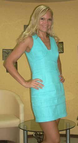 Выкройка платья из льна