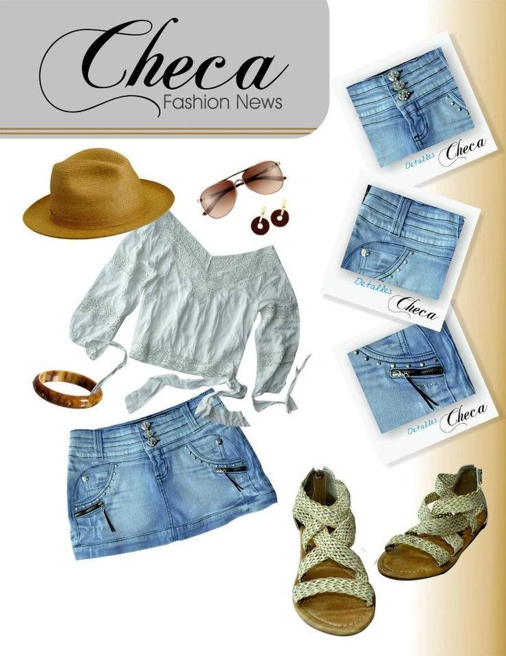 Crea tu estilo con Checa www.checajeans.com