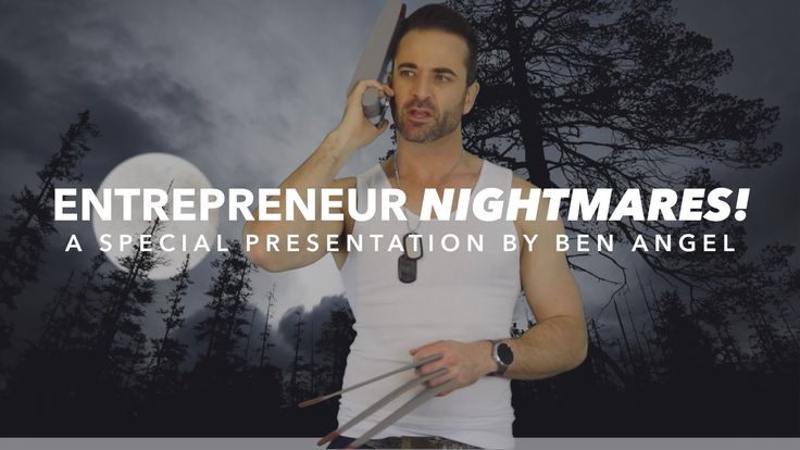 Entrepreneurial Horror Stories - submission to Entrepreneur.com YouTube channel