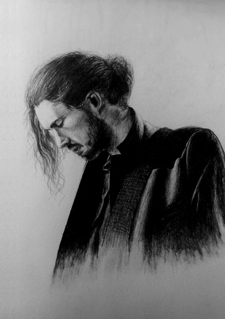 Hozier.  pencil drawing