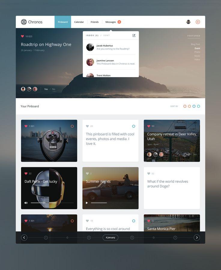good creative website that inspire me to design the ShouTV