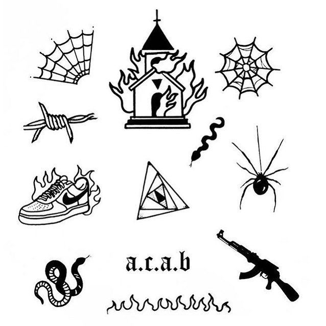 "Ignorant Tattoos on Instagram: ""Random Sheet by @_auravisual 🔻 🔺 🔻 Ÿ …"