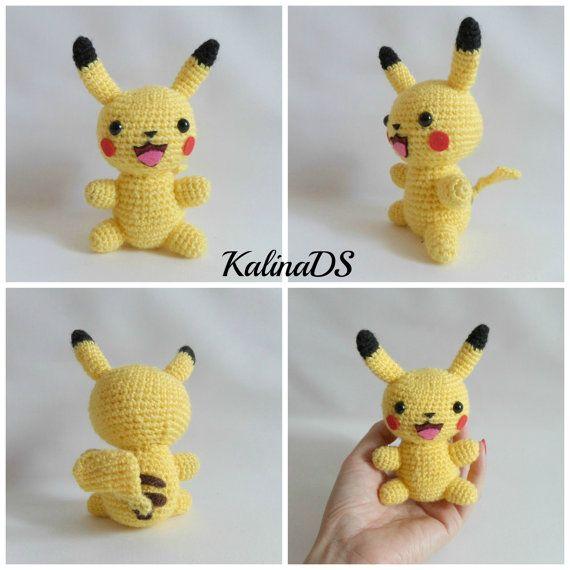14 best pokemon images on Pinterest | Pikachu, A fan and Chrochet