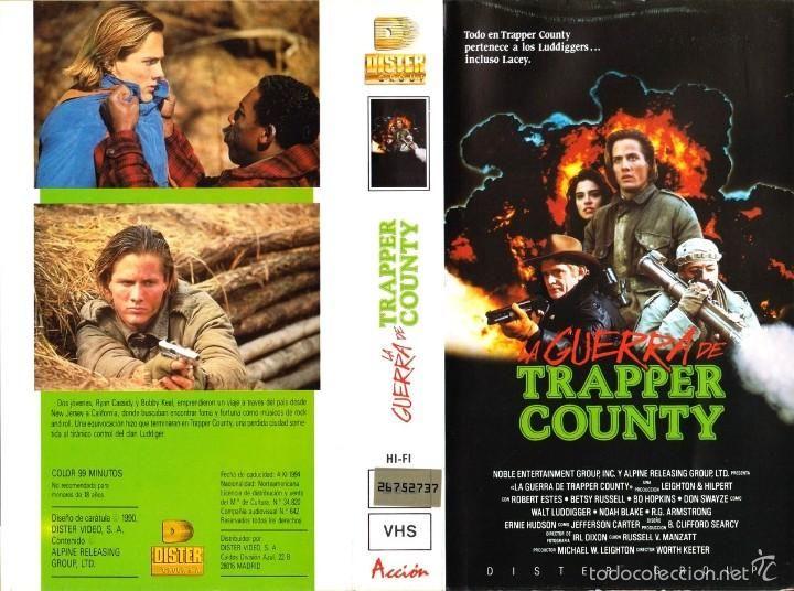 #preBrexit ••• Trapper County War (aka Dirty War in EU Germany, from the makers of Pale Blood and Rush Week, PAL VHS, Spain (EU), Dister Group). ••• #Kauhu #Arthouse #näyttelijät #Španjolska #Brexploitation #CommonMarket #Bmovie #Exploitation #Swede #Indie #Cannes #Deauville #Venezia #BBFC #Pamplona #Basque #LloretdeMar #Pyrenees #Tuliaseet #Taidot #Vuoret #Mäet #España #Todocoleccion
