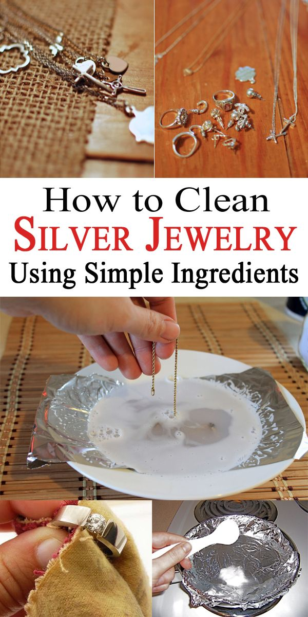 Do you wear silver jewelry but don't know how to clean them when they start to lose their brilliance? Find out how to restore their glow fast and easy!