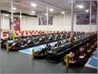 K1 Speed. Indoor go kart racing.