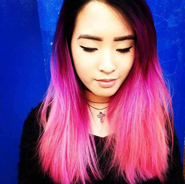 Bleach London - pink ombré hair   Hair, Make Up and