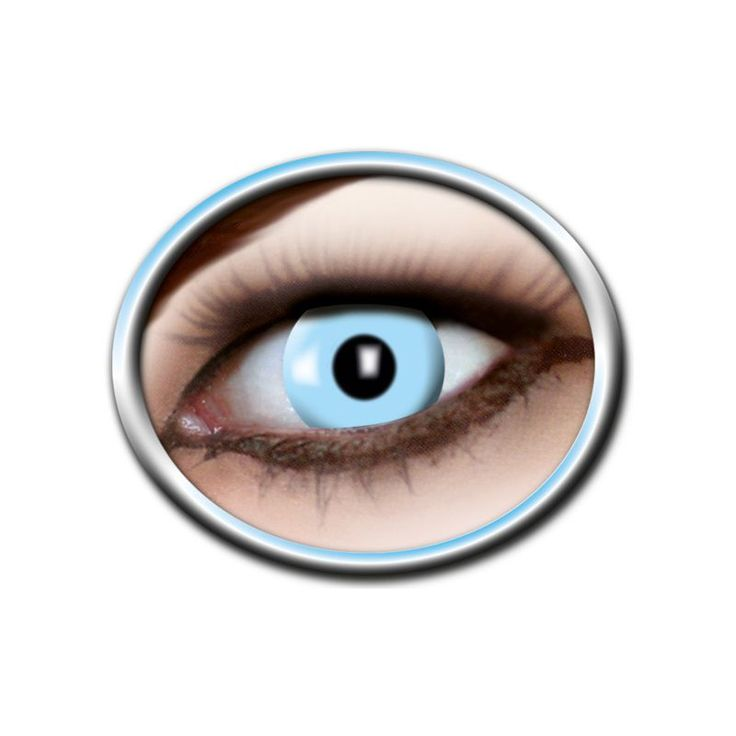 Découvrez toute notre gamme de lentilles fantaisies pour vos déguisements, changez votre regard avec ces lentilles bleues glace de la marque zoelibat.