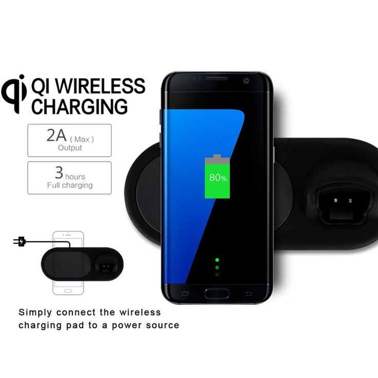 Bakeey Qi Wireless Charger Pad+Bluetooth Headset For iPhone X/iPhone 8/8 Plus/Samsung Galaxy Note 8/S8/S8 Plus
