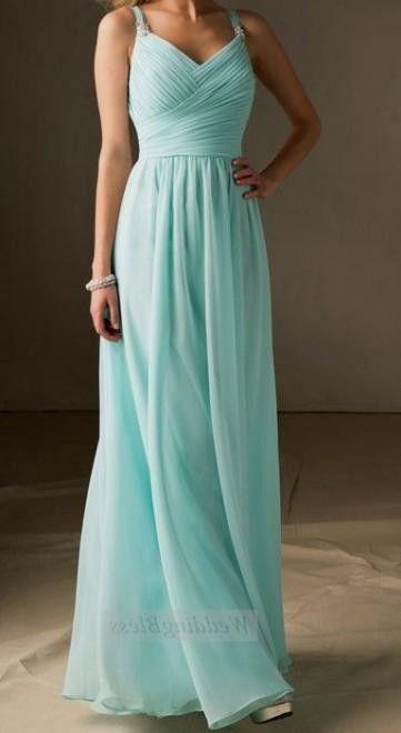 Tiffany Blue Bridesmaids on Pinterest | Wedding Bridesmaid Dresses ...