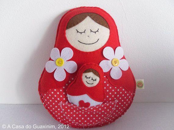 Matrioska  Mother's Day por acasadoguaxinim en Etsy, €12,00