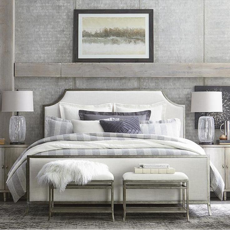 2559K163 In By Bassett Furniture In Logan, UT   King Palisades Upholstered  Panel Bed