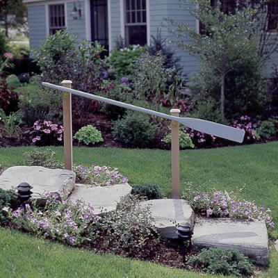 cute handrail for a lake cottage ~ Coastal Living ~ Float In Cottage                                                                                                                                                                                 More