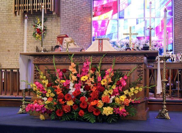 easter sunday church flower arrangements - Google Search