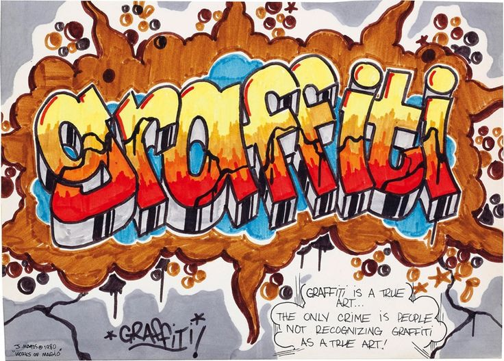 essays graffiti art crime In the late 1960's, graffiti became more than just a political statement or gang mark, it became a hobby and an art to some but this past time required.