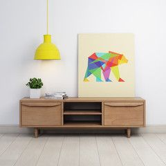 Modern Danish Scandinavian Retro 1960's Entertainment Cabinet TV Stand – GHIFY. Visit http://ghify.com/products/2-door-entertainment-unit-large