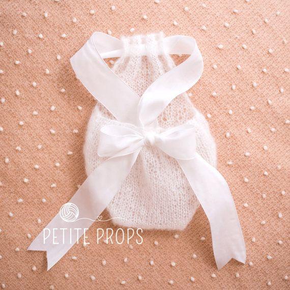 UK verkoper pasgeboren Mohair Romper Newborn door PetitePropsUK
